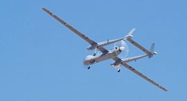 """מל""""ט של התעשייה האווירית, צילום: דוברות משרד הביטחון"""