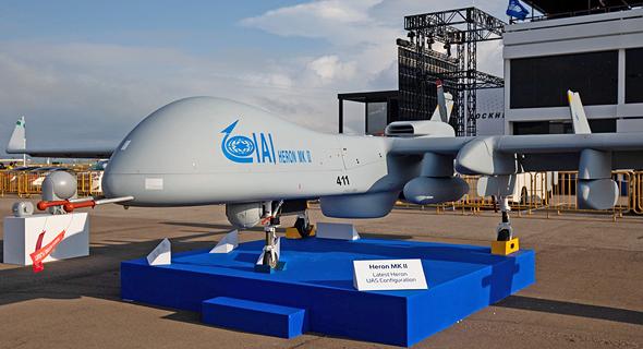 An IAI-made UAV. Photo: Bloomberg