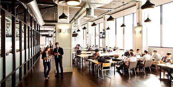 משרדים WeWork ב ניו יורק משרדי ווי וורק