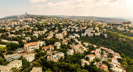 חיפה צילום מרחוק זירת הנדלן, צילום: ניר בלזיצקי, דוברות עיריית חיפה