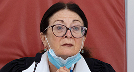 נשיאת בית המשפט העליון אסתר חיות קורונה, צילום: עמית שאבי