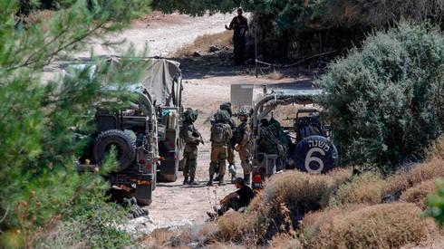 """פריסת כוחות צה""""ל בגבול לבנון"""