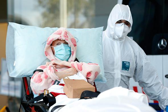 חולה קורונה ממוסד סיעודי באוסטרליה