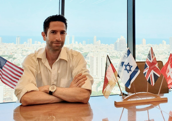 Noach Hager managing partner at Cukierman & Co. Investment House. Photo: Courtesy