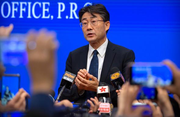 גאו פו ראש המרכז הסיני לבקרה ומניעת מחלות