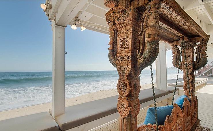 מבט מהמרפסת לים, צילום: Compass