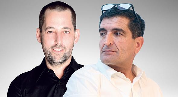 """מימין: מנכ""""ל נתיבי ישראל ניסים פרץ וסגן נשיא התאחדות הקבלנים ניר ינושבסקי. שיתוף פעולה"""