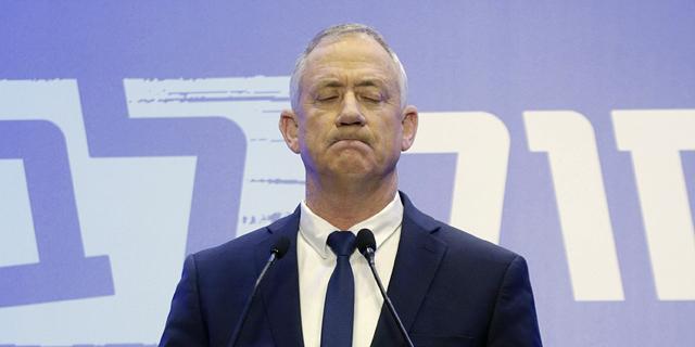"""המשבר הפוליטי מחריף; גנץ: """"אנחנו מתעקשים ולא תהיה תזוזה"""""""