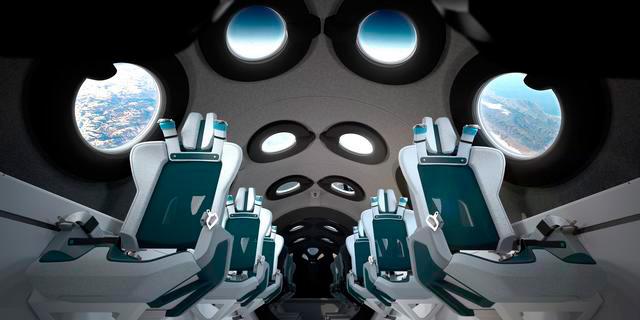 250 אלף דולר לכרטיס: וירג'ין גלקטיק חושפת את החללית העתידית