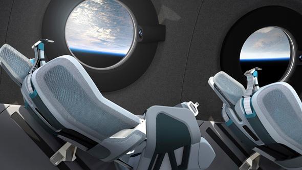 פנים החללית העתידית, צילום: איי פי