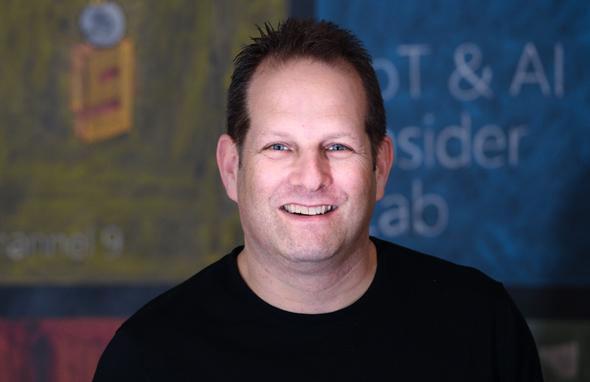 Intel Ignite General Manager Tzahi Weisfeld. Photo: Aviram Valdman for Soda Creative Video