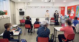 קורונה כיתה ב בית ספר, צילום: אלכס קולומויסקי