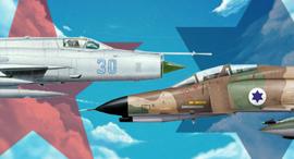 הקברניט חיל האוויר מלחמת ההתשה קרב אוויר, צילום: wallap,wp.scn,F4SOCIETY