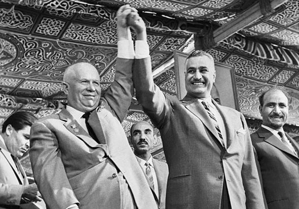 חזקים ביחד. נאצר ומנהיג ברית המועצות, ניקיטה חרושצ'וב