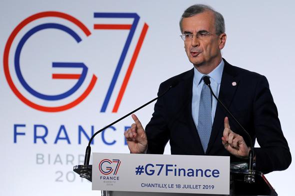 נגיד הבנק המרכזי של צרפת, פרנסואה וילרוי דה גלהאו