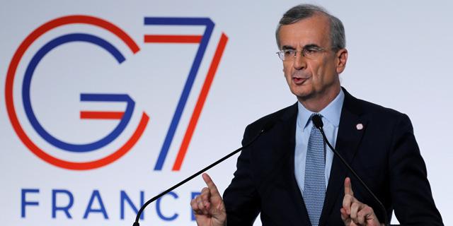 נגיד הבנק המרכזי של צרפת, פרנסואה וילרוי דה גלהאו, צילום: רויטרס