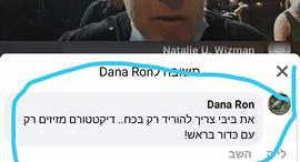 פייק פוסט ב פייסבוק הקורא לרצח ראש הממשלה בנימין נתניהו