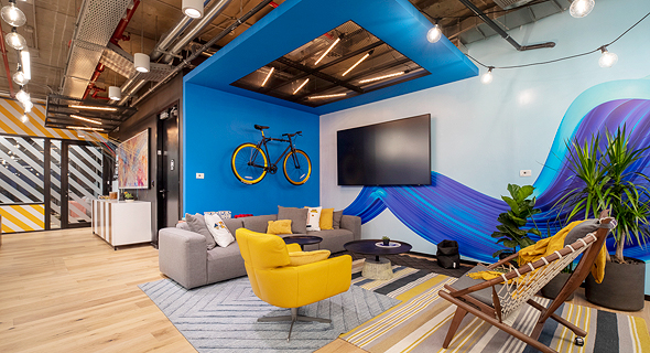 Intel Ignite hub space. Photo: Dan Miller