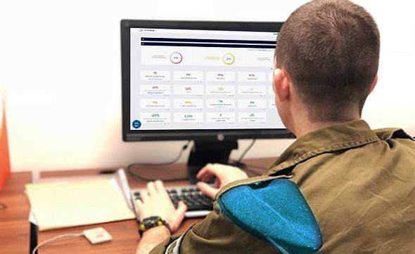 """המעבדה של צה""""ל. כל חייל מקבל ציון בין 1 ל-10, צילום: דובר צה""""ל"""