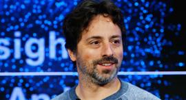מייסד גוגל סרגיי ברין פורום דאבוס 2017, צילום: רויטרס