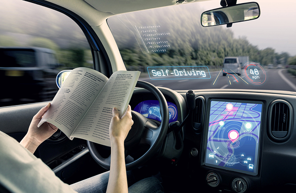 Self driving vehicles. Photo: Shutterstock
