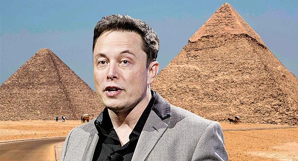 מאסק והפירמידות