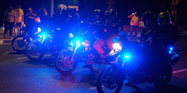 """משטרת ישראל מחפשת """"אופנוע עם נוכחות"""""""