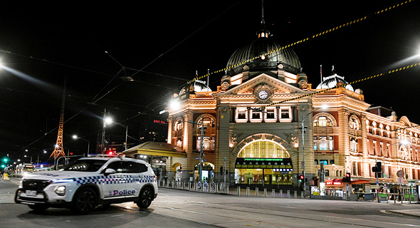 סגר במלבורן, אוסטרליה