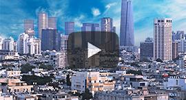 Tel Aviv's skyline. Photo: Shutterstock