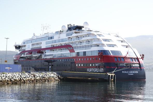 הספינה שבה התגלו החולים