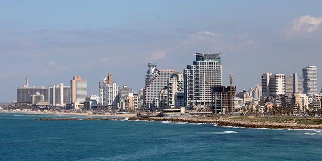 תל אביב חוף זירת הנדלן, צילום: אוראל כהן