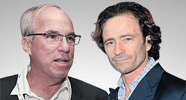 """אבי פישר יו""""ר ומנכ""""ל קונצרן כלל תעשיות ואיש העסקים הבריטי ג'ק שימל, צילום: אוראל כהן"""