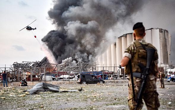 הפיצוץ בנמל ביירות