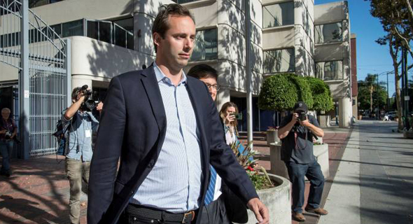אנתוני לבנדובסקי  Anthony Levandowski מנהל לשעבר פרויקט רכב אוטונומי גוגל הורשע, צילום: בלומברג