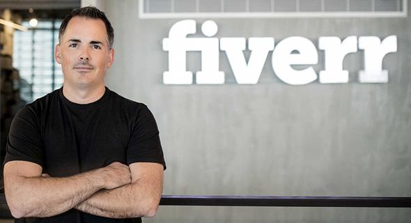 Micha Kaufman CEO of Fiverr Photo: Omar HaCohen
