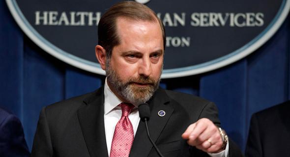 """אלכס אזר, מזכיר הבריאות ושירותי האנוש של ארה""""ב"""