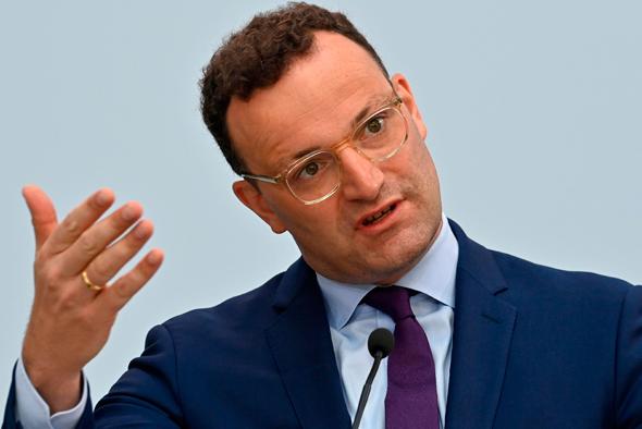 שר הבריאות של גרמניה ינס ספאן