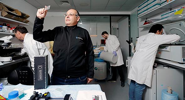 Yossi Yamin, CEO if SpacePharma. Amit Shaal
