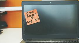 אל תשכח להתנתק מהמחשב, צילום: שאטרסטוק