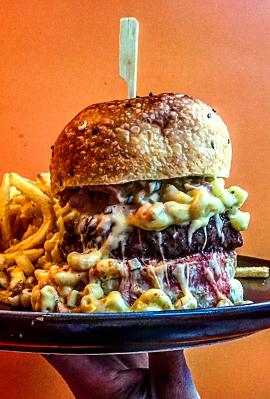 המבורגר לוויתן, צילום: ליאור רפאל