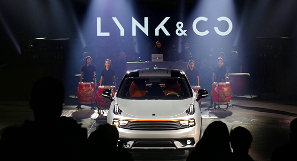 מכונית של יצרנית הרכב הסינית Lynk & Co