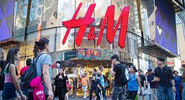 חנות של H&M בטיימס סקוור במנהטן, צילום: בלומברג