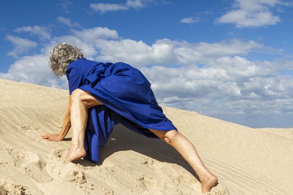 """""""מחול כחולות"""", צילום אלי פסי"""