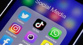 רשתות חברתיות רשת חברתית טוויטר טיקטוק אינסטגרם פייסבוק סנאפצ'ט ווטסאפ , צילום: גטי