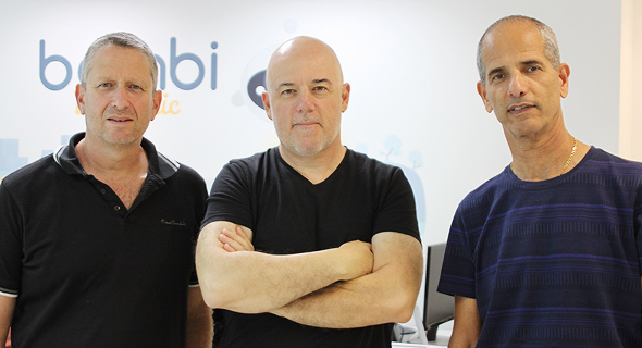 Li-On Raviv – CTO, Moshe Pinto – Founder and CEO, Zion Madmon – Chairman and Founder. Photo: Bambi Dynamic