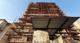 """הבניין ברחוב יהודה הנשיא 7 בר""""ג, צילום: אוראל כהן"""