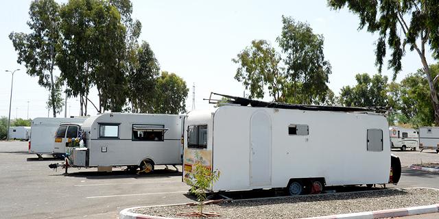 במשרד הביטחון בוחנים נופשונים לאנשי הקבע ומשפחותיהם בקרוואנים