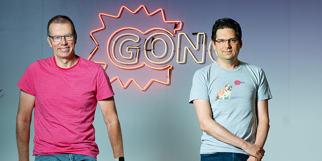 Gong co-founders Amit Bendov and Eilon Reshef. Photo: Rami Zerenger
