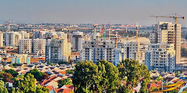 פרויקט מגורים בבנייה אורה זירת הנדלן, צילום: באדיבות עיריית יבנה