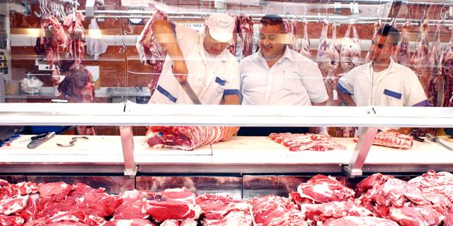 חנות בשר של דבאח, צילום: אלעד גרשגורן